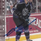 Andreas Lilja Autograph Los Angeles Kings Card Red Wings - Panthers