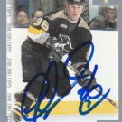 Mathew Barnaby Autograph 00-01 Topps Penguins Card Sabres