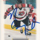 Nick Boynton Autograph Victory Prospects Card Bruins - Blackhawks