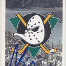 Cam Severson Autograph Mighty Ducks Card Straubing Tigers