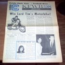KFWB Hitline Magazine 10/13 1965 The Beatles Standells Byrds Johnny Rivers Music