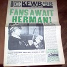 KFWB Hitline Magazine August 9 1965 Turtles Herman's Hermits Sonny & Cher Charts