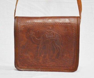 Real Leather Laptop Protection Satchel Vintage Messenger Bag Satchel Cross Body