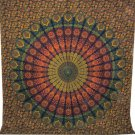 Hippie Mandala Twin Tapestry Cotton Wall Hanging Throw Bedcover Boho Bedsheet