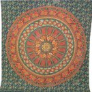 Indian Mandala Cotton Tapestry Hippie Wall Decor Bohemian Tapestry Bedsheet