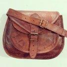 Real Leather Genuine Handmade Bag Ladies Shoulder Cross Body Satchel Sling Bag