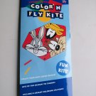 Vintage Looney Tunes Color N Fly Kite With Taz Bugs & Daffy Warner Bros