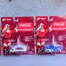 Coca Cola Diecast Ornaments Lot Of 4 Johnny Lightning Pickup Charger Camaro Delivery New