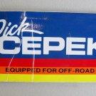 Dick Cepek Vintage Decal #2 Sticker Off Road 4x4 Truck