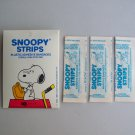 Snoopy Strips Bandages Vintage Peanuts Character Adhesive