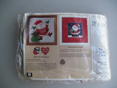 Christmas Tis The Season Embroidery Kit Creative Circle 2105