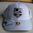 Hockey LA Kings Hat Black Gray Reebok New S M NHL Hockey Cap