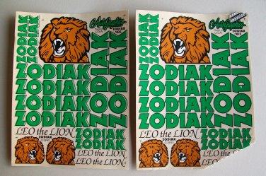 NOS Zodiak RC 1/10 Decals Autographics 825 Stickers Vintage