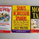 Business Book Lot Speaking Presentations Techniques