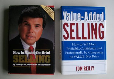Business Sales Book Lot Value Added Selling Master The Art Of Reilly Hopkins Hardcover
