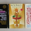 Business Motivation Book Lot B7 Building Business Teams Harvard Awards Programs Employee