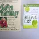 Self Help Health Book Lot SH6 Green Pharmacy Alternative Cures Natural Remedies