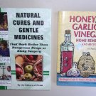 Self Help Health Book Lot SH7 Natural Cures Gentle Medicines Home Remedies Recipes