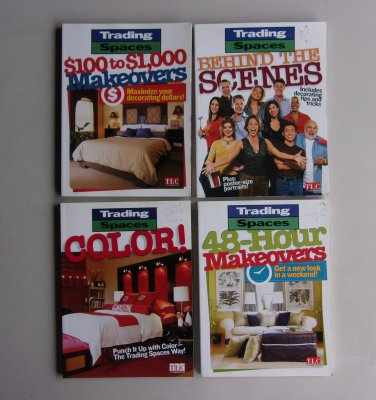 DIY Trading Spaces Book Lot TLC Remodel Redecorate Decorating Makeover Tips Techniques