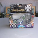 West Coast Choppers Jesse James El Diablo Rigid Green Blue Vintage Muscles Machines