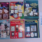 Cross Stitch Patterns Leaflets Book Lot Pets Sports Kids School House Earth