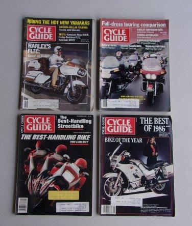 Vintage Cycle Guide Magazine Lot Harley Best Of Ninja Honda Kawasaki Motorcycles Bikes