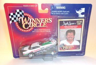 John Force NHRA Funny Car Castrol Drag Racing Vintage Winners Circle Photo Card