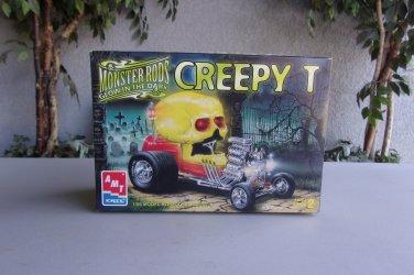 Creepy T Monster Rods Glow In The Dark Model Kit AMT Ertl 1/25 Hot Rod Vintage