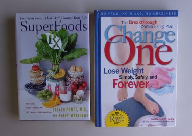 Healthy Eating Weight Loss Book Lot S10 Super Foods RX Readers Digest Diet Hardcover