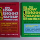 Health Book Lot S12 Low Blood Sugar Handbook Cookbook Self Help Diet Exercise