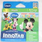 NEW VTECH INNOTAB GAME MICKEY MOUSE CLUBHOUSE AGES 4-7 YEARS Factory Sealed