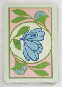 Vintage Trump Playing Cards Butterfly Mid Century Mod New Sealed