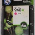 HP 940XL GENUINE MAGENTA HIGH YEILD INK CARTRIDGE C4908AN NEW