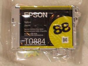 Epson 88 Yellow Ink Cartridge T0884 NEW