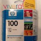 Genuine HP 100 Grey Photo C9368AN OEM ink Cartridge Sealed exp 05/2007