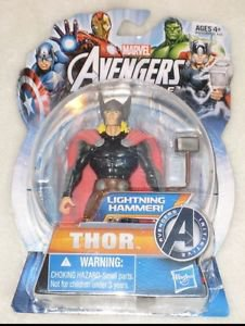 Hasbro Marvel THOR Action Figure Lightining Hammer NEW