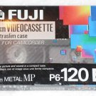 FUJIFILM Fuji Film P6-120 8mm Metal MP Video Cassette Camcorder Extraslim NEW