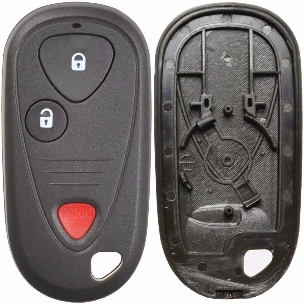 New Key Remote fob SHELL case ACURA 3 button USA warranty ship 24 hrs