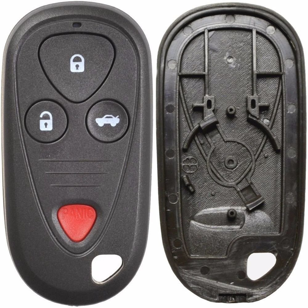 New Key Remote fob SHELL case ACURA 4 button USA warranty ship 24 hrs