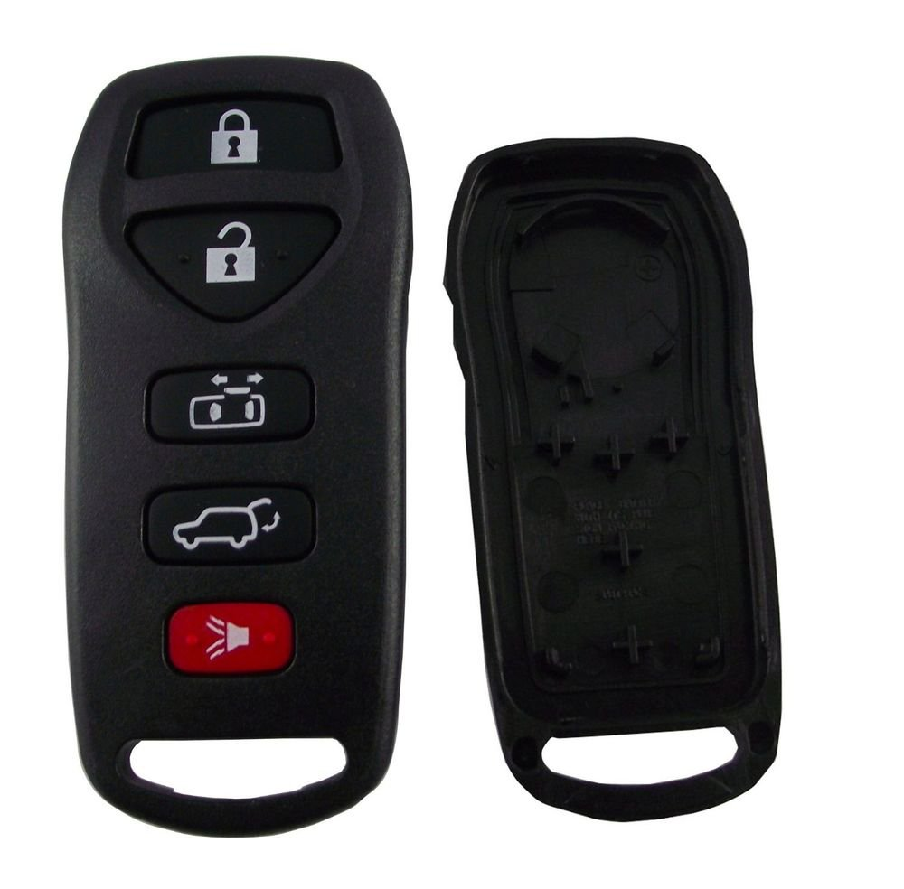 New Key Remote fob SHELL case NISSAN QUEST 5 button LIFE warranty ship 24 hrs