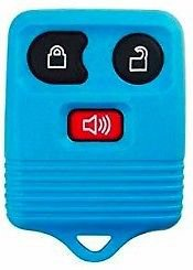 NEW FORD Key remote FOB SHELL case LIFE WARRANTY! 3 Buttn Ships 24hrs