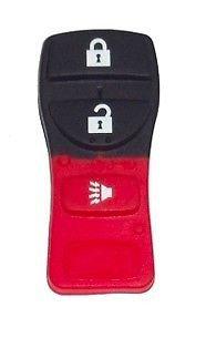 New Key Remote fob PAD case NISSAN INFINITI 4 button LIFE warranty ship 24 hrs