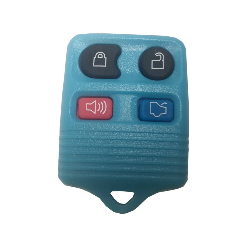 NEW FORD Key remote FOB SHELL case (Blue) 1998-2012 LIFE WARRANTY ships in 24hrs