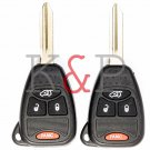 NEW 2 Key Fob set Keyless 4 button M3N65981772 LIFE WARRANTY! ships in 2 hrs