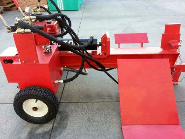 New Twin Cylinder Hydraulic Log Splitter with Log Lift / Electric Start