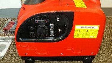 1KW 1000 Watt Portable Gas Digital Inverter Power Backup Generator w/ DC