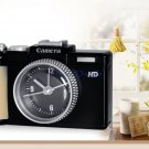 Cute Camera Design Decorative Alarm Clock (Black)