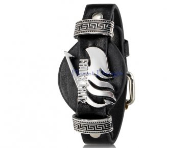 Anime Manga Fairy Tail Design  Wristband (Black)