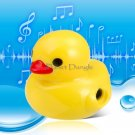 Cute Duck Shaped MP3 Player with Card Reader (Yellow)