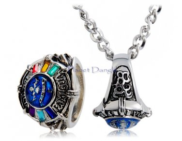 Anime Manga Hitman Reborn 3rd Generation Vongola Design Ring with Chain  Necklace
